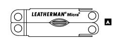 Схема особенностей Leatherman Micra